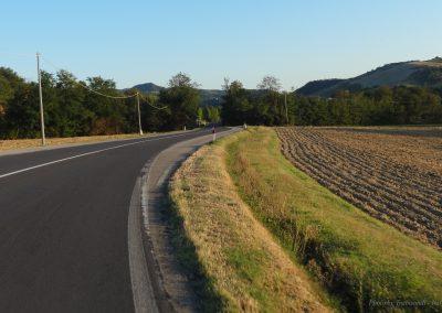 Percorrendo la valle dell'Idice