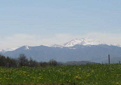 Panorama sopra Pavullo nel Frignano